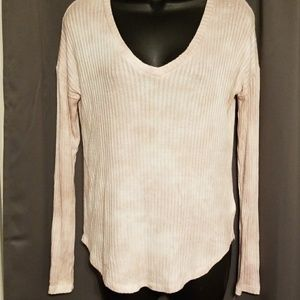 American Eagle women's ribbed shirt size M